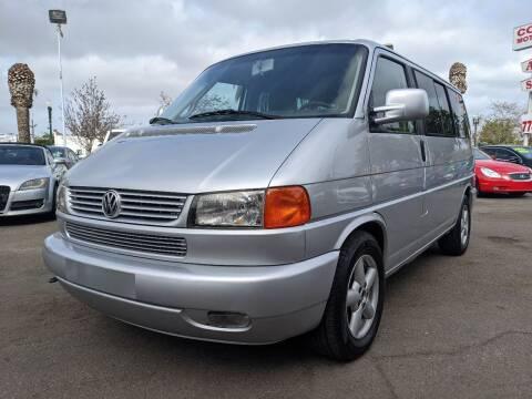 2002 Volkswagen EuroVan for sale at Convoy Motors LLC in National City CA