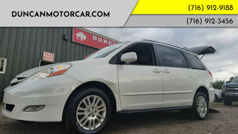 2009 Toyota Sienna for sale at DuncanMotorcar.com in Buffalo NY