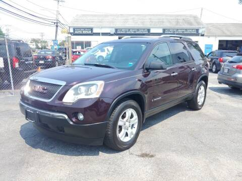 2008 GMC Acadia for sale at Viking Auto Group in Bethpage NY