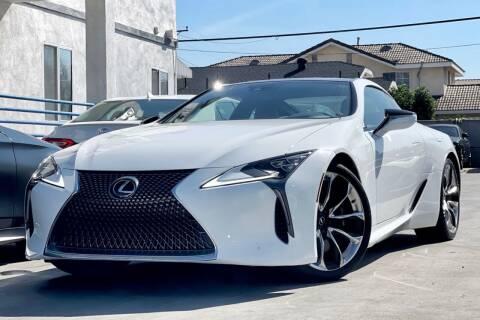 2020 Lexus LC 500 for sale at Fastrack Auto Inc in Rosemead CA