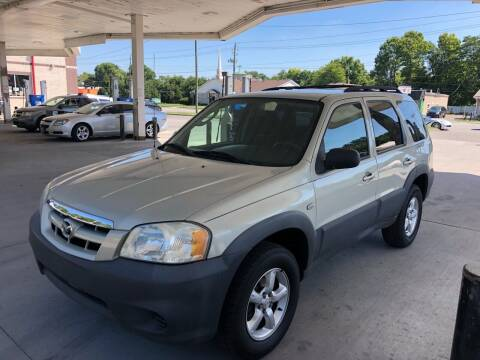 2005 Mazda Tribute for sale at JE Auto Sales LLC in Indianapolis IN