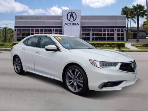 2019 Acura TLX for sale at MIAMI ACURA in Miami FL