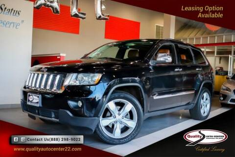 2013 Jeep Grand Cherokee for sale at Quality Auto Center of Springfield in Springfield NJ
