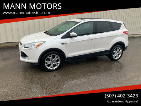 2013 Ford Escape for sale at MANN MOTORS in Albert Lea MN