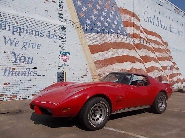 1976 Chevrolet Stingray Corvette for sale at LARRY'S CLASSICS in Skiatook OK