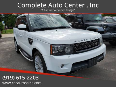 2013 Land Rover Range Rover Sport for sale at Complete Auto Center , Inc in Raleigh NC