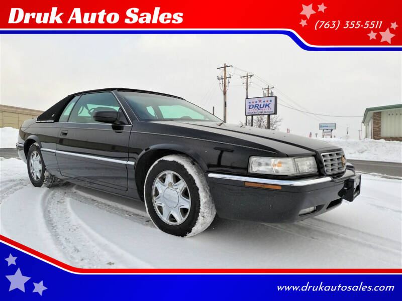 2000 Cadillac Eldorado for sale at Druk Auto Sales in Ramsey MN