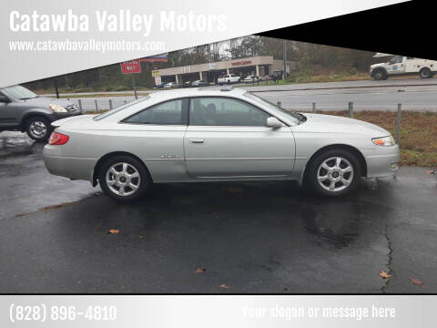 2003 Toyota Camry Solara for sale at Catawba Valley Motors in Hickory NC