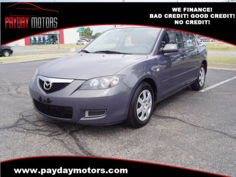 2008 Mazda MAZDA3 for sale at Payday Motors in Wichita And Topeka KS