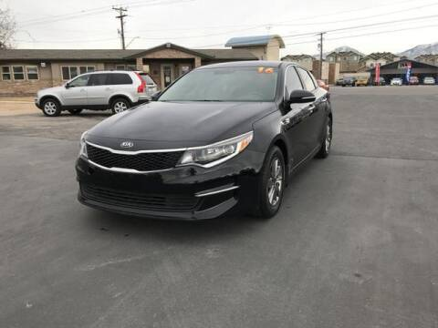 2016 Kia Optima for sale at INVICTUS MOTOR COMPANY in West Valley City UT