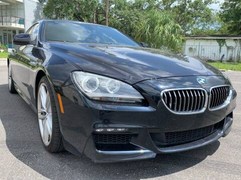 2012 BMW 6 Series for sale at Consumer Auto Credit in Tampa FL