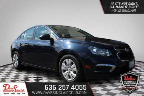 2016 Chevrolet Cruze Limited for sale at Dave Sinclair Chrysler Dodge Jeep Ram in Pacific MO