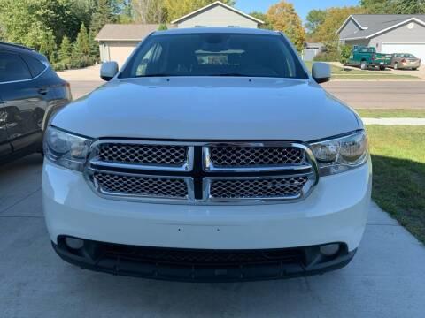 2011 Dodge Durango for sale at El Rancho Auto Sales in Marshall MN