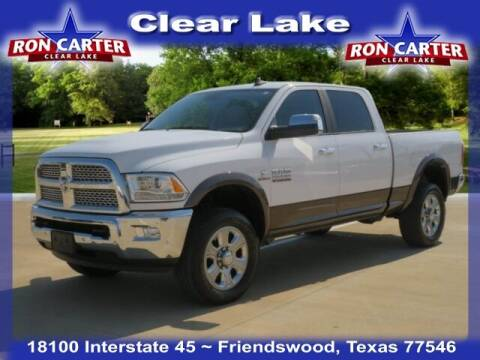 2018 RAM Ram Pickup 2500 for sale at Ron Carter  Clear Lake Used Cars in Houston TX