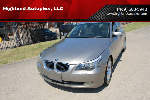 2008 BMW 5 Series for sale at Highland Autoplex, LLC in Dallas TX