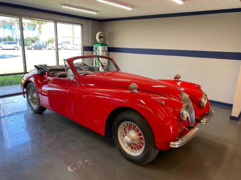 1953 Jaguar XK120 Drophead for sale at Gallery Junction in Orange CA