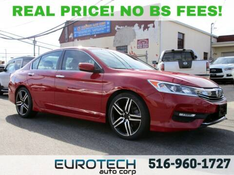 2016 Honda Accord for sale at EUROTECH AUTO CORP in Island Park NY