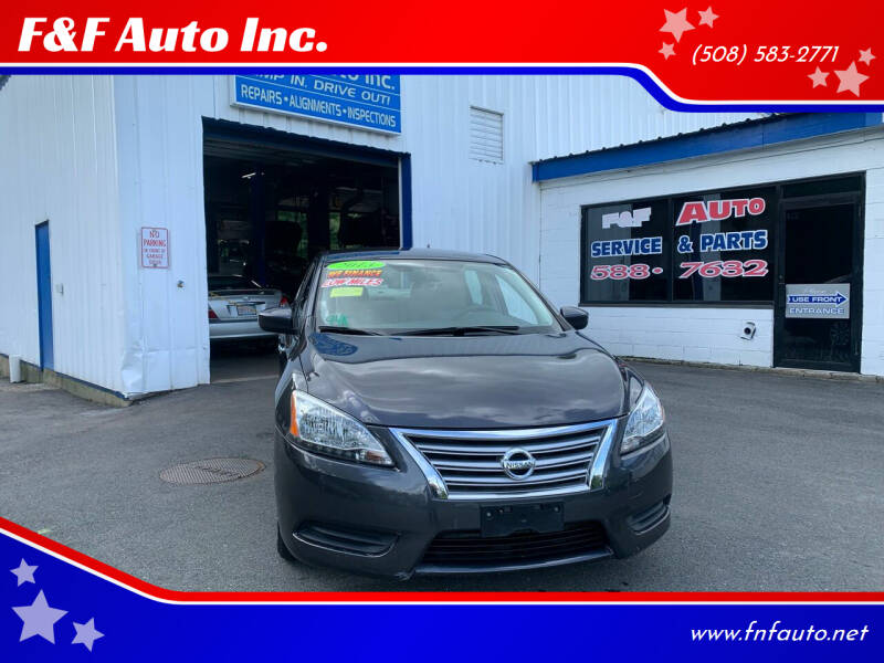 2013 Nissan Sentra for sale at F&F Auto Inc. in West Bridgewater MA