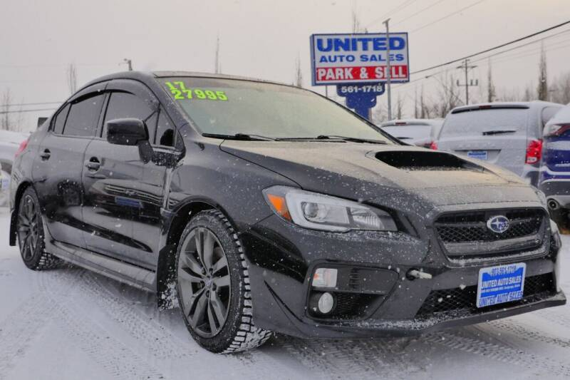 2017 Subaru WRX for sale at United Auto Sales in Anchorage AK