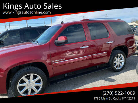 2008 GMC Yukon for sale at Kings Auto Sales in Cadiz KY