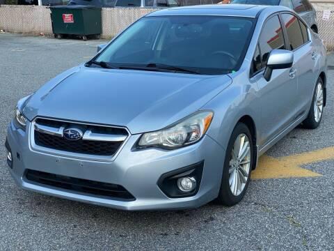 2013 Subaru Impreza for sale at MAGIC AUTO SALES - Magic Auto Prestige in South Hackensack NJ