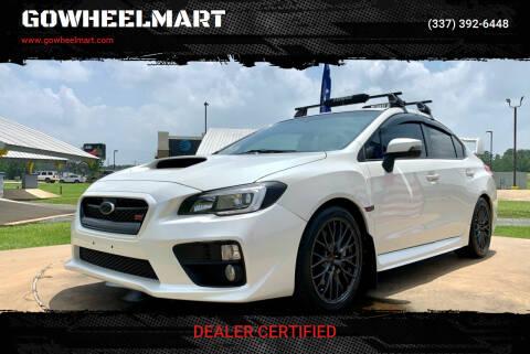 2017 Subaru WRX for sale at GOWHEELMART in Leesville LA