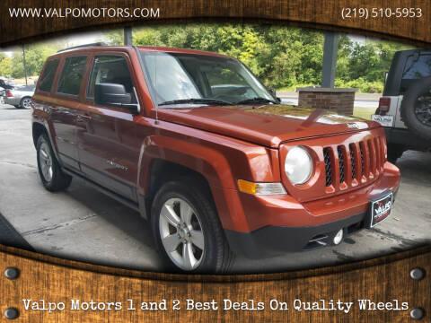 2012 Jeep Patriot for sale at Valpo Motors Inc. in Valparaiso IN
