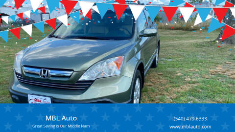 2008 Honda CR-V for sale at MBL Auto Woodford in Woodford VA