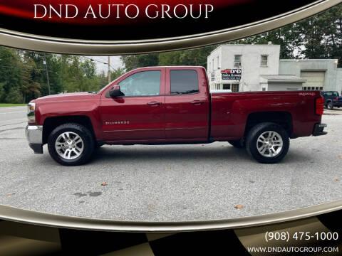 2017 Chevrolet Silverado 1500 for sale at DND AUTO GROUP in Belvidere NJ