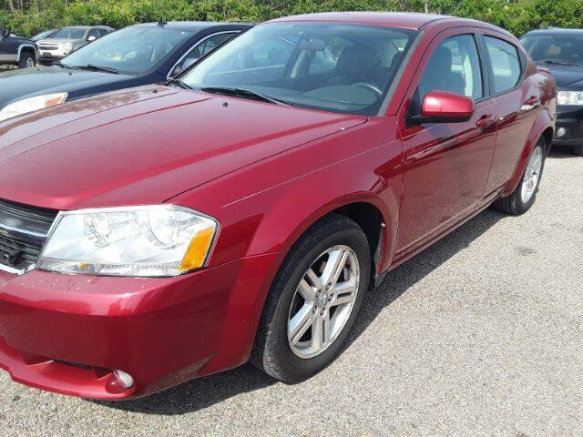 "2010 Dodge Avenger for sale at Midwestern Auto Sales ""The Used Car Center"" in Middletown OH"