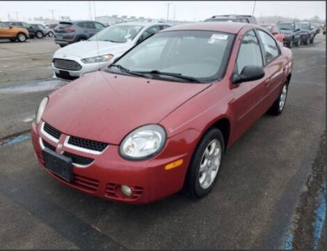 2003 Dodge Neon for sale at HW Used Car Sales LTD in Chicago IL