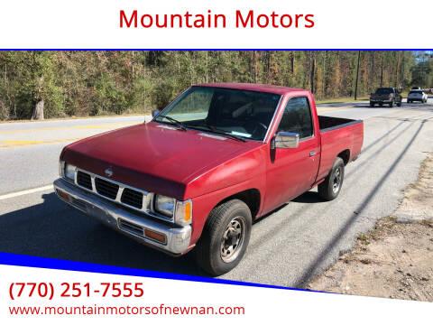 1995 Nissan Truck for sale at Mountain Motors in Newnan GA
