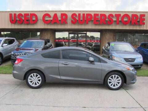 2012 Honda Civic for sale at Checkered Flag Auto Sales NORTH in Lakeland FL