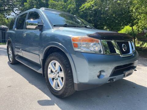 2012 Nissan Armada for sale at Thornhill Motor Company in Lake Worth TX