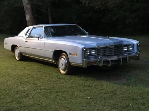1978 Cadillac Eldorado for sale at Classic Car Deals in Cadillac MI