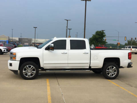 2018 Chevrolet Silverado 2500HD for sale at LANDMARK OF TAYLORVILLE in Taylorville IL
