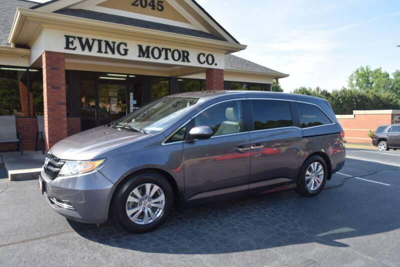 2016 Honda Odyssey for sale at Ewing Motor Company in Buford GA