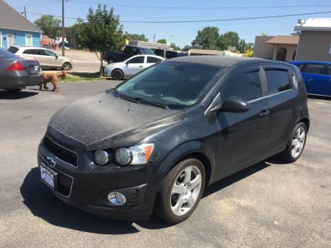 2013 Chevrolet Sonic for sale at Creekside Auto Sales in Pocatello ID