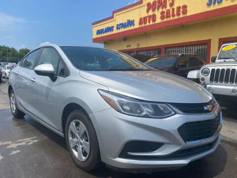 2017 Chevrolet Cruze for sale at Popas Auto Sales in Detroit MI