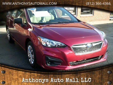 2018 Subaru Impreza for sale at Anthonys Auto Mall LLC in New Salisbury IN
