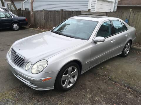 2003 Mercedes-Benz E-Class for sale at American Dream Motors in Everett WA