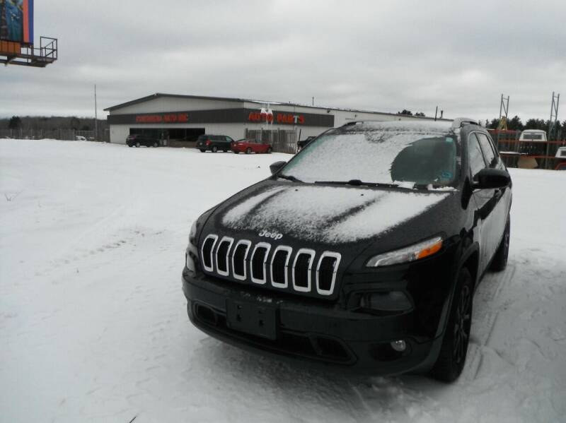 2016 Jeep Cherokee for sale at CousineauCrashed.com in Weston WI