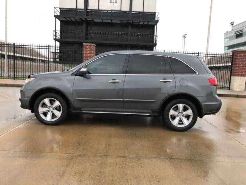 2010 Acura MDX for sale at ALL AMERICAN FINANCE AND AUTO in Houston TX