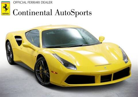 2019 Ferrari 488 GTB for sale at CONTINENTAL AUTO SPORTS in Hinsdale IL