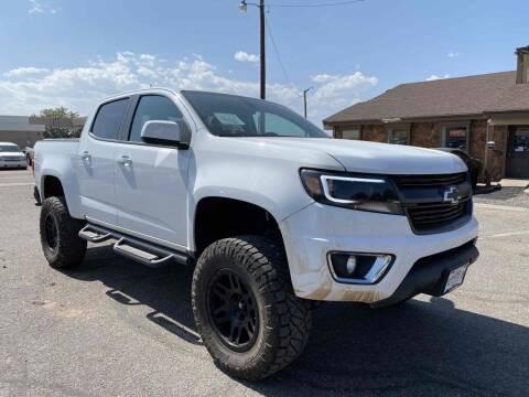 2018 Chevrolet Colorado for sale at BERKENKOTTER MOTORS in Brighton CO