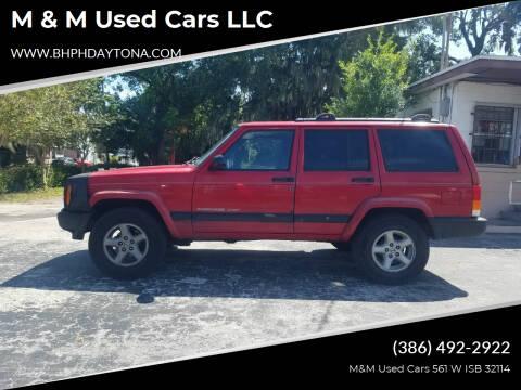2000 Jeep Cherokee for sale at M & M Used Cars LLC in Daytona Beach FL