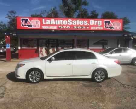 2012 Toyota Avalon for sale at LA Auto Sales in Monroe LA