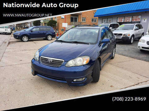 2006 Toyota Corolla for sale at Nationwide Auto Group in Melrose Park IL