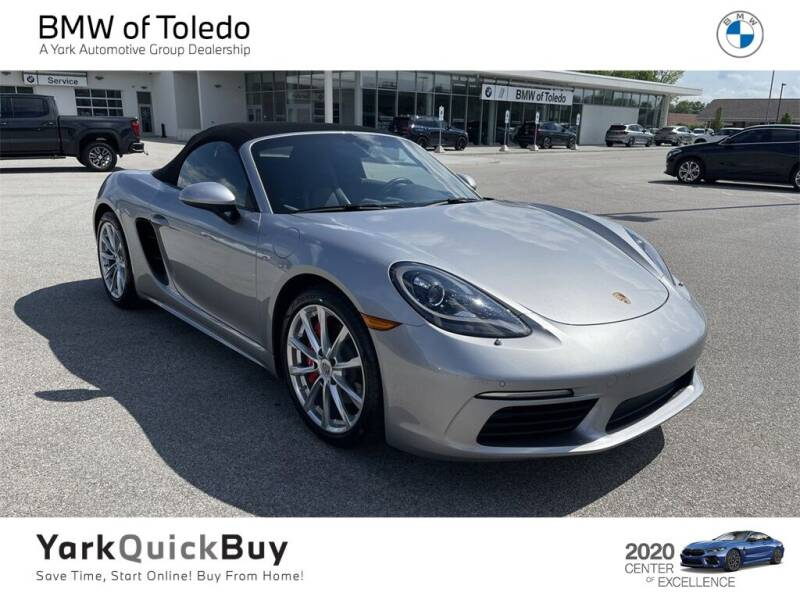 2018 Porsche 718 Boxster for sale in Toledo, OH