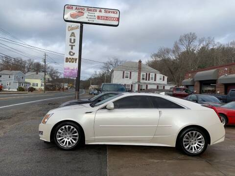 2011 Cadillac CTS for sale at 401 Auto Sales & Service in Smithfield RI